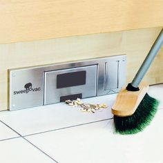 Kitchen Vacuum, for Plinths, Sweepovac Smeg Kitchen, Vacuums, Kitchen Vacuum, Kitchen, Victorian Kitchen, Hafele, White Washed Furniture, Plinths, Kitchen Living