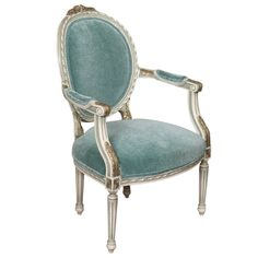 Atlantis Teal Armchair at Found Vintage Rentals. THIS TEALBLUE MOHAIR UPHOLSTERED ARMCHAIR IS GORGEOUS! USE AS AN END CHAIR, SWEETHEART SEATING OR WITHIN A LOUNGE VIGNETTE.