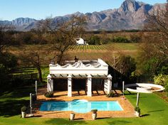 Vrede en Lust, A magnificent South African winery with 300 years of incredible history, is one of the top destination estates to visit in the Western Cape. South African Wine, Top Destinations, Big Day, Lust, Gazebo, Landscapes, The Incredibles, Outdoor Structures, Cabin