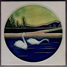 Jugendstil Fliese Kachel Art Nouveau Tile WIENERBERGER 2
