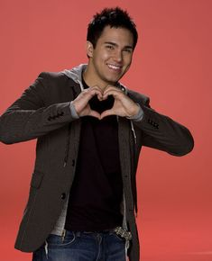Carlos Pena. From Big Time Rush: he was a cheerleader! :) yeah buddy!
