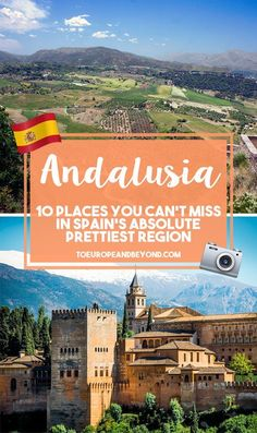 Highlights of Andalusia, from the striking scenery to the Moorish architecture and the tasty tapas. Come explore beautiful Andalusia!
