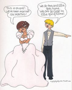 katniss y peeta caricaturas - Buscar con Google