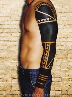 Manica blackwork blackwork Tattoo by Michelangelo Tribal tattoos Tatuaggi tribali