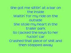Sittin at a Bar- Rehab with Lyrics