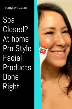 Ladies, we're trapped at home and our spa is still closed. I've pulled together some favorite skin care beauty products to give yourself an at home DIY professional quality facial #beautytips #skincare #diy #facial #antiaging