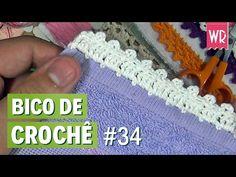 Bico de crochê fácil e completo para iniciante #34 - YouTube
