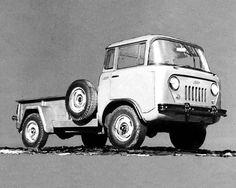 1963 Jeep FC170 Forward Control Factory Photo
