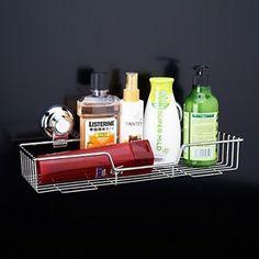 Strong Suction Rustproof Storage Basket  Amazon link: https://www.amazon.co.uk/Suction-Rustproof-Bathroom-Kitchen-Storage/dp/B01E19PKRS/ref=sr_1_4?s=kitchen&ie=UTF8&qid=1468681683&sr=1-4&keywords=bathroom+accessories
