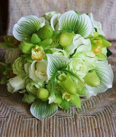 Lady Slipper Orchids, Cymbidium Orchids, Roses