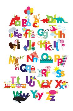 Alphabet clipart illustrated alphabet by WinchesterLambourne
