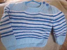 Hand knitted toddler jumper by Vickyannstitches on Etsy, £6.50