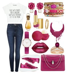 """""""♫ Could tell you what you wanna hear. Cause the truth is always in the way. I never wanna live in fear. I don't wanna hold back all the things. I need to say Say, say. ♫"""" by casey-is-a-secret-agent ❤ liked on Polyvore featuring Topshop, Alexander McQueen, Bulgari, Jemma Wynne, Abbott Lyon, Chaumet, Carrie K., Lime Crime, Eos and Estée Lauder"""