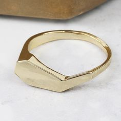 d336e234d Looking for Ladies' Costume Jewellery? Take a look at this Geometric Ring  in gold