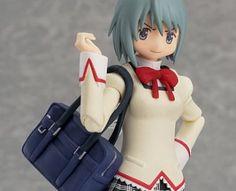 Sayaka Miki School Uniform Version (Puella Magi Madoka Magica) Figma-Actionfigur 16cm MaxFactory