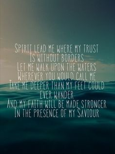 Oceans (Where My Feet May Fail) - Hillsong United