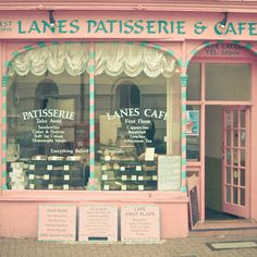 Lanes Cafe by Cassia Beck