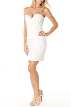 Short Jersey Dress With Cutout Pearl Shoulders Style 231m68710 Wedding Pinterest Casual And 1920s Dresses