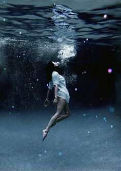 """Underwater/ Time is standing still/ You're the treasure/ I dive down deeper still/ All I need is you"" -BORNS"