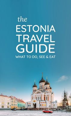 Are you planning to visit the Baltics soon? Here's a detailed Estonia travel guide on what to see, where to go and what to eat when you visit this beautiful Baltic state! It is certainly recommended…More Voyage Europe, Europe Travel Guide, Europe Destinations, Travel Guides, Helsinki, Cool Places To Visit, Places To Travel, Bon Plan Voyage, Estonia Travel