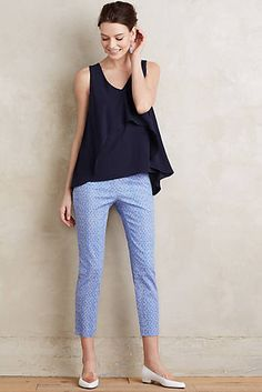 Oceanfront Charlie Trousers #anthrofave #anthropologie