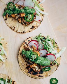 chipotle roasted cauliflower tacos // brooklyn supper