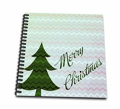 PS Christmas - Merry Christmas in Chevron stripe - Memory Book 12 x 12 inch (db_108861_2) >>> Be sure to check out this awesome product.