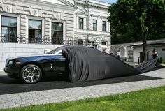 Rollas Royce Wraith debut in Moscow
