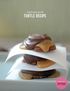 Homemade Turtle Recipe on aliceandlois.com