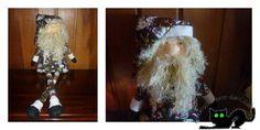 Costura navideña: Un Papá Noel muy especial