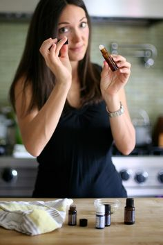 Creating homemade essential oil blends || Recipes and Roll On tutorial