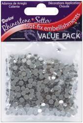 Rhinestone Setter Hot-Fix Embellishments 4mm 750/Pkg-Crystal Glass Stone 7.19