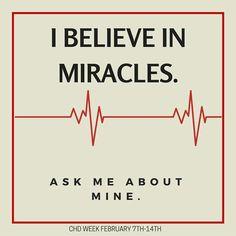 My CHD Miracle!