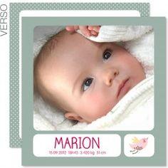 Lovinou Fuschia : couleurs pastel, un p'it oiseau pour l'arrivée d'une belle petite poupée ! #fairepart #naissance #fille