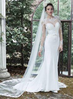 Maggie Sottero Designer wedding dresses and bridal gowns Wedding Dresses Size 14, Wedding Dress Trends, Wedding Dress Sleeves, Long Sleeve Wedding, Perfect Wedding Dress, Wedding Dress Styles, Bridal Dresses, Bridesmaid Dresses, Wedding Ideas