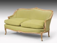 Louis XV Style Sofa of Small Proportions