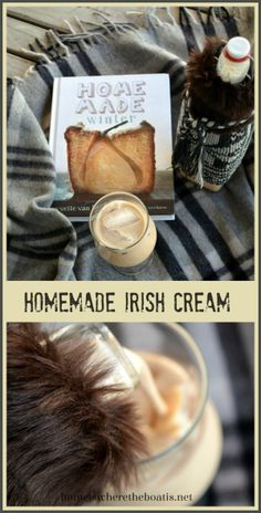 BECKYS IRISH CREAM 11/4 c Irish Whiskey, 3/4-1C heavy crem 1 14oz can sweetened condensed milk, 2T Chocolate syrup, 2t vanilla extract, 1T instant coffee  Store clear glass bottle in refrig up to 2 months, shake well B4 useing Homemade Irish Cream Liqueur