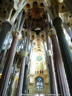 Sagrada Família from Gaudí in Barcelona (Spain)