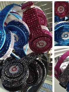 Beats by Dre solo custom bling Crystalized by Customshoesandthings, $300.00