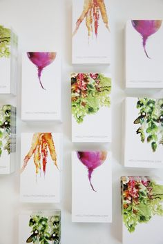 The most beautiful business cards I've ever seen. <3                                                                                                                                                                                 More
