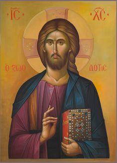 Jesus Christ Images, Jesus Art, Christ Pantocrator, Orthodox Christianity, Orthodox Icons, Roman Catholic, Savior, Fine Art, Saints