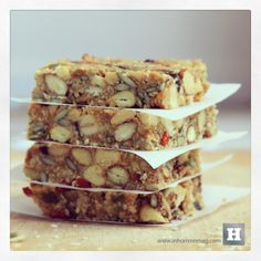 #Muesli bars #Healthy recipes #Breakfast