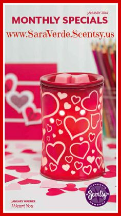#Scentsy Warmer of the Month, January 2014.