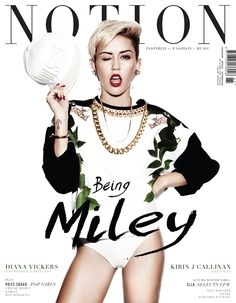 Miley Cyrus on Notion