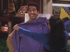 Ross and His White Teeth #friends #ross #monica #whiteteeth