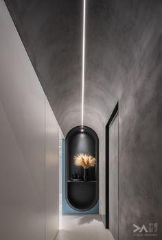 Atrium Design, Corridor Design, H Design, House Design, Cafe Interior Design, Residential Interior Design, Light Architecture, Interior Architecture, Massage Room Design