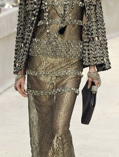 Chanel,   Sophisticated Metallic.
