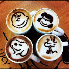 Snoopy latte anyone?