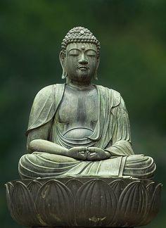 "lich-tung: "" buddhabe: "" Kannon meditating in Asakusa, Tokyo "" """