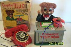 S&E Telly Bear from 60s/ebay